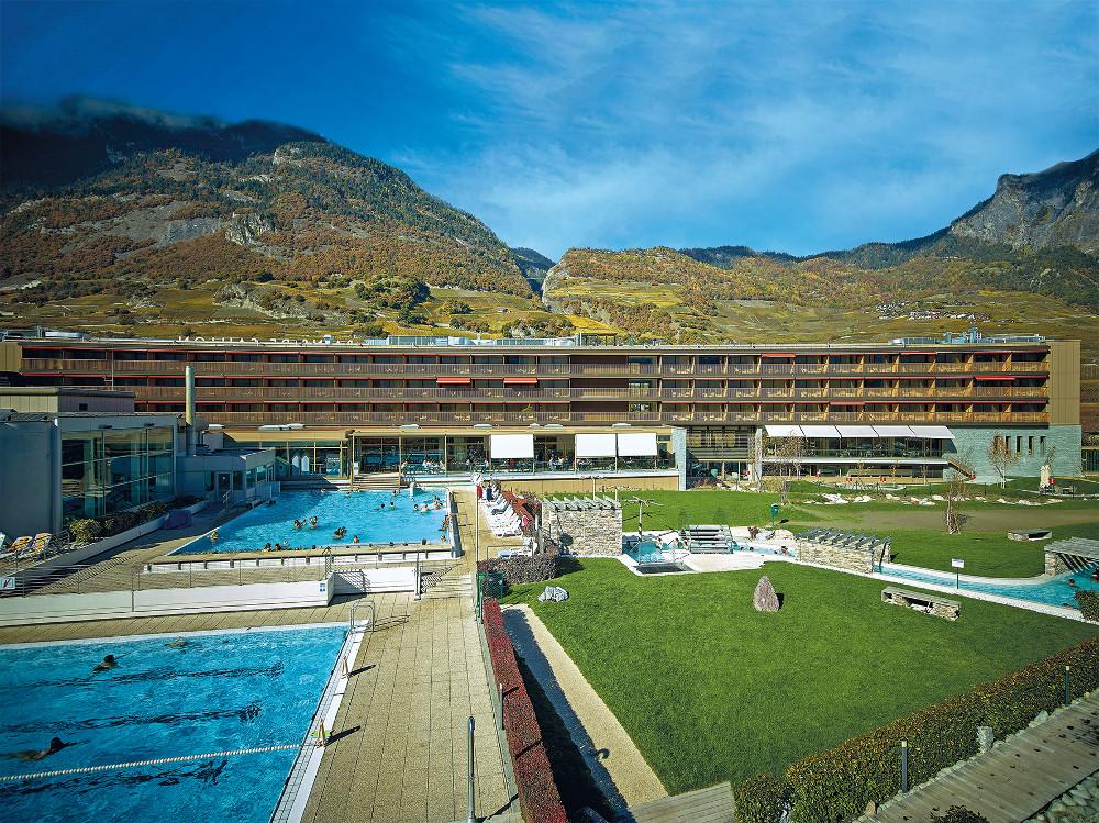 Vier sterne hotel les bains de saillon wellness ferien im for Hotel des bains saillon suisse