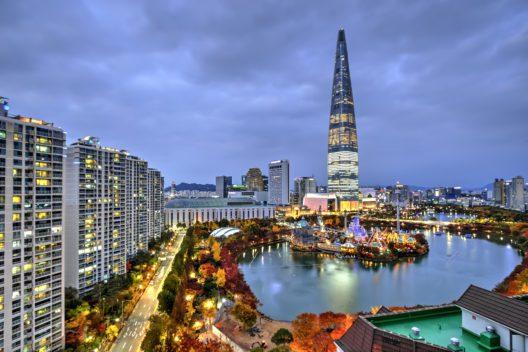 Das höchste Gebäude in Seoul (Bild: © catalinlazar / fotolia.de / #127506989)