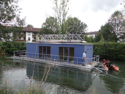 Die Hausbootsauna