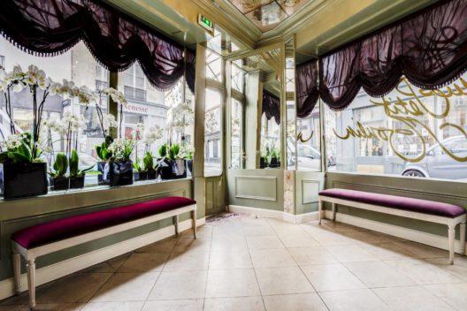 Rezeption (Bild: © Hotel du Petit Moulin)