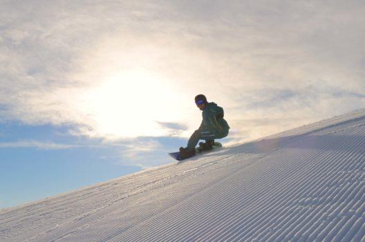 Ein Snowboarder (Bild: © Sepp Mallaun)