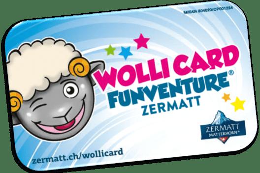 Wolli Card (Bild: © Zermatt Tourismus)