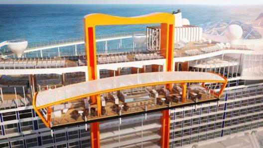 Celebrity Edge, Magic Carpet (Bild: Celebrity Cruises)