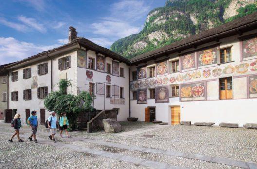 Giornico (Bild: © Ticino Turismo / Remy Steinegger)