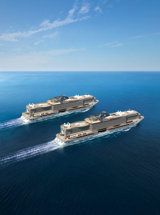 MSC Seaview und Seaside (Bild: MSC Cruises)