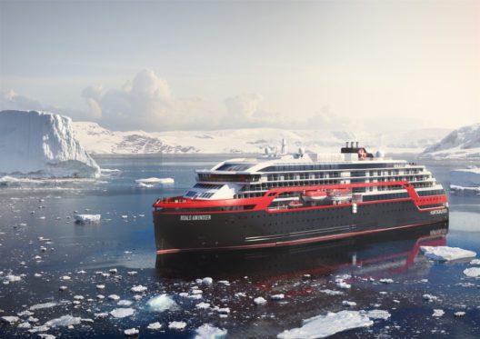 MS Roald Amundsen (Bild: Hurtigruten)