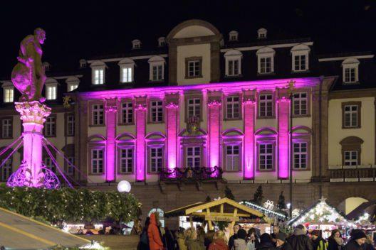 Pink Monday 2014 auf dem Heidelberger Marktplatz (Bild: © Philipp Rothe)