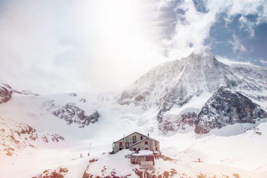 Cabane des Dix, Mt. Blanc Cheillon, Winter im Wallis (Bild: © Valais_Wallis Promotion - David Carlier)