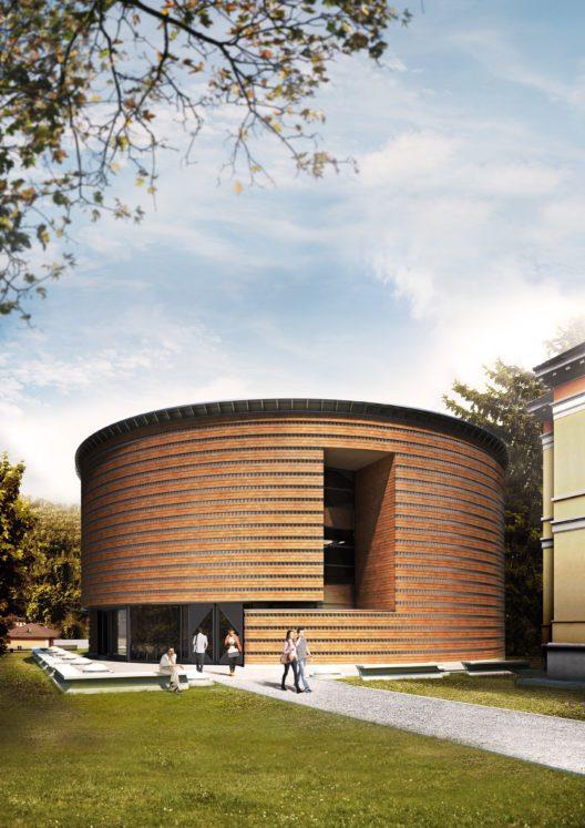 """""""Teatro dell'architettura"""" in Mendrisio (Bild: Studio Architetto Mario Botta)"""