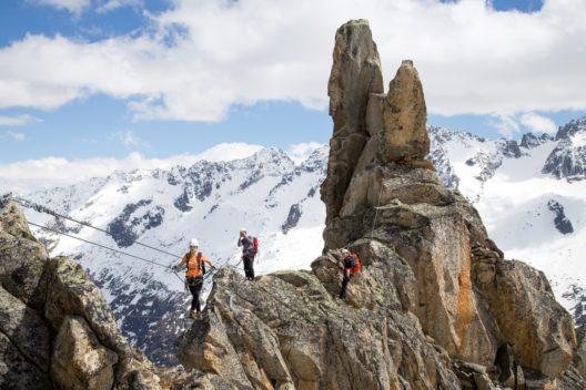 Kletterer müssen Wettergefahren beachten. (Bild: Oliver Foerstner - shutterstock.com)