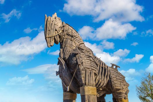 Das trojanische Pferd (Bild: S-F - shutterstock.com)