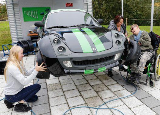Auto im Ravensburger Spieleland (Bild: © Ravensburger Spieleland)