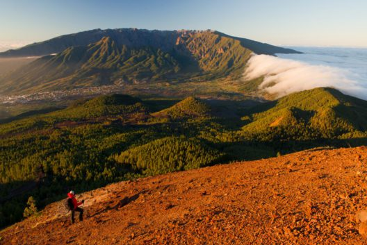 Caminante Mar de Nubes - Saul Santos (Bild: © Fremdenverkehrsamt La Palma)