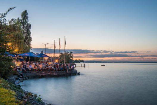 Hier startet die Challenge - Bucht Rohrschach (Bild: © St. Gallen-Bodensee Tourismus)