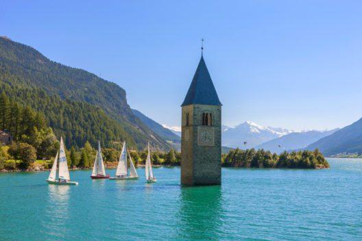 Reschensee (Bild: IDM, Südtirol, Frieder Blickle)