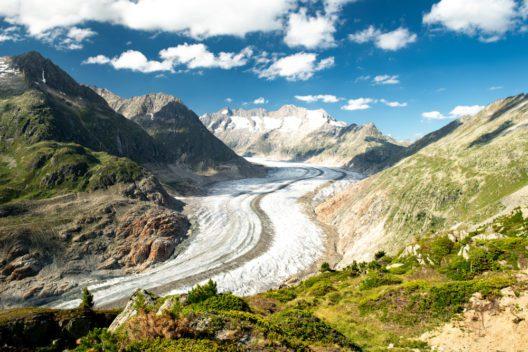 Der Aletschgletscher (Bild: © Ekaterina Grivet - shutterstock.com)