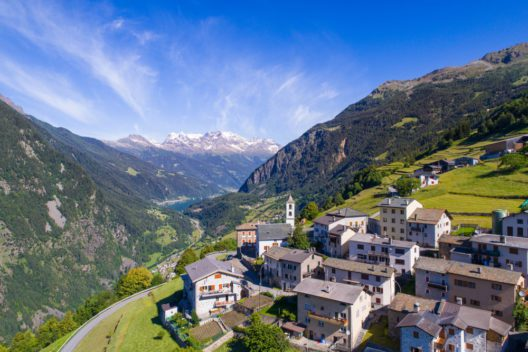 Poschiavo im südlichen Kanton Graubünden (Bild: SimonePolattini – shutterstock.com)