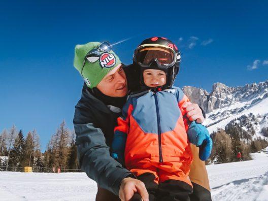 Florian Eisath mit Sohn Felix