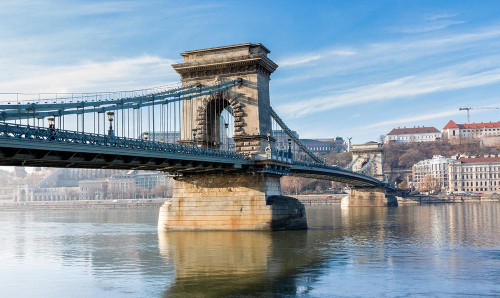 Die Széchenyi-Kettenbrücke