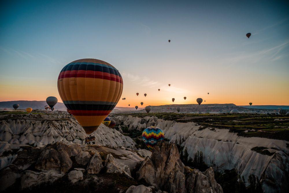 Kappadokien, Türkei (Bild: Tony Lee - unsplash)