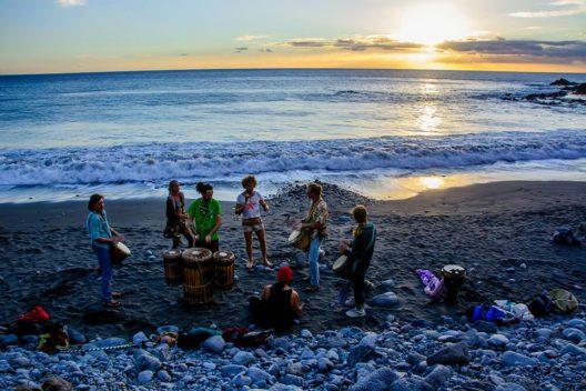 La Playa Valle Gran Rey, La Gomera (Bild: © hellocanaryislands)