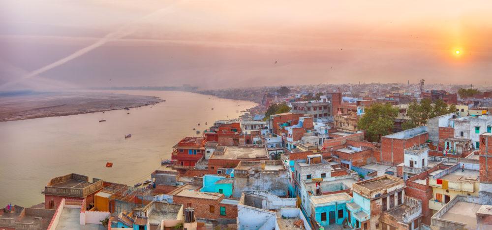 Varanasi, indische Stadt am Ganges
