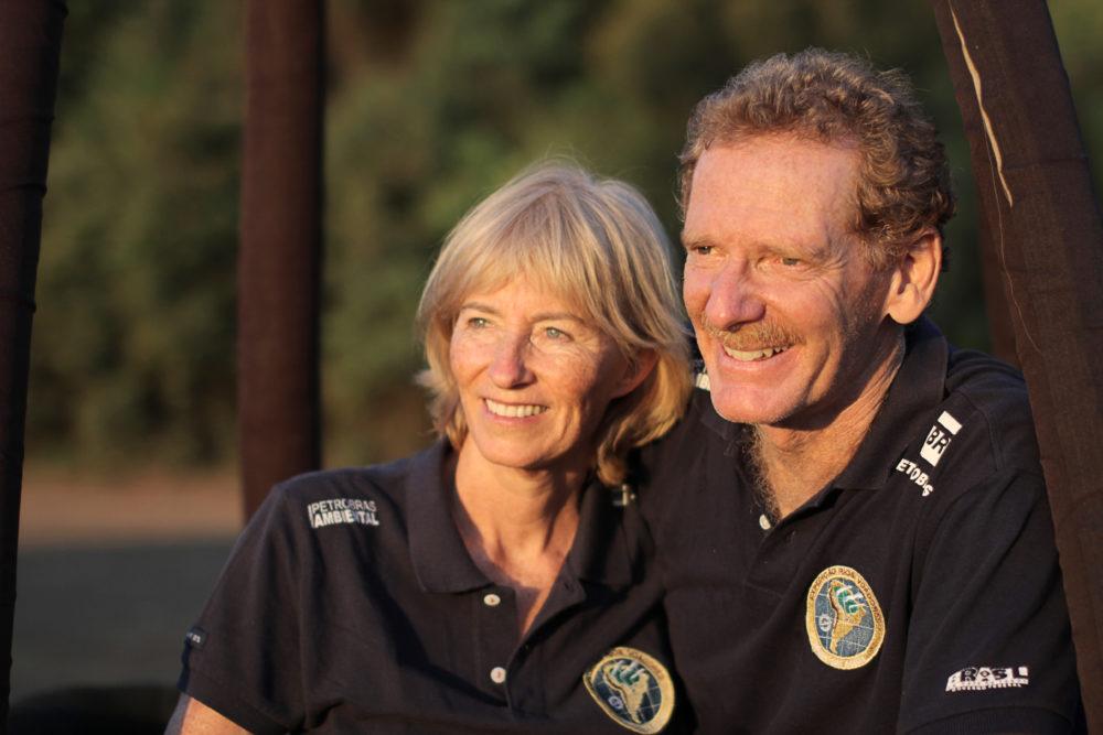 Das Forscherpaar Margi und Gérard Moss (Bild: Margi Moss)