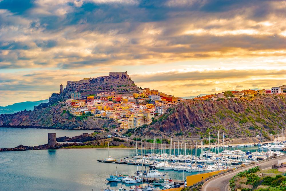 Castelsardo auf Sardinien (Bild: Romas_Photo - shutterstock.com)