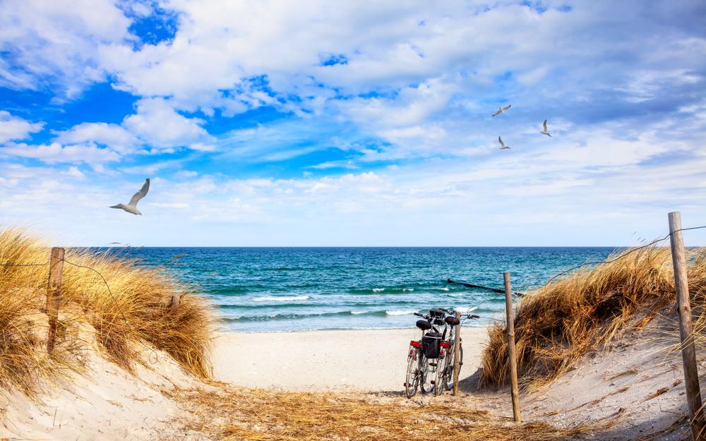 Ostsee mit dem Fahrrad
