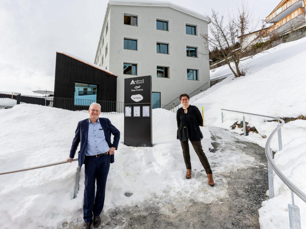 Franz Gschwend und Janine Bunte (Bild: © Laura Gargiulo)