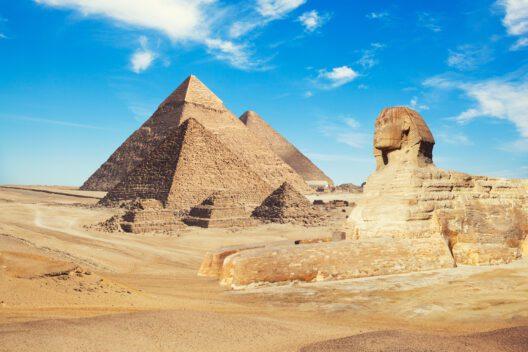 Ägypten, die Pyramiden von Gizeh (Bild: Merydolla – shutterstock.com)