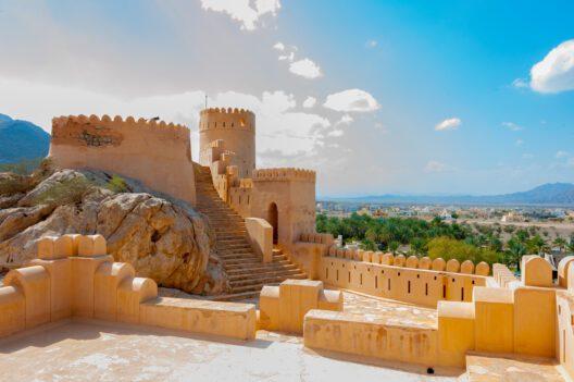 Historische Sehenswürdigkeit Nakhal Fort-Oman (Bild: Hans Wagemaker – shutterstock.com)
