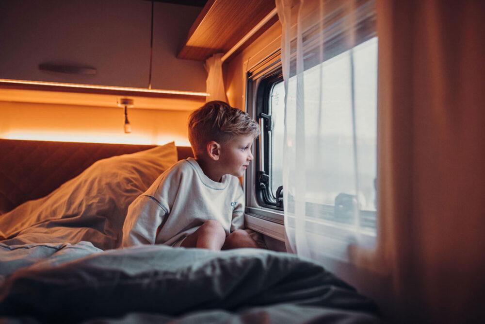 Guter Schlaf im Wohnmobil (Bild: © Carado)