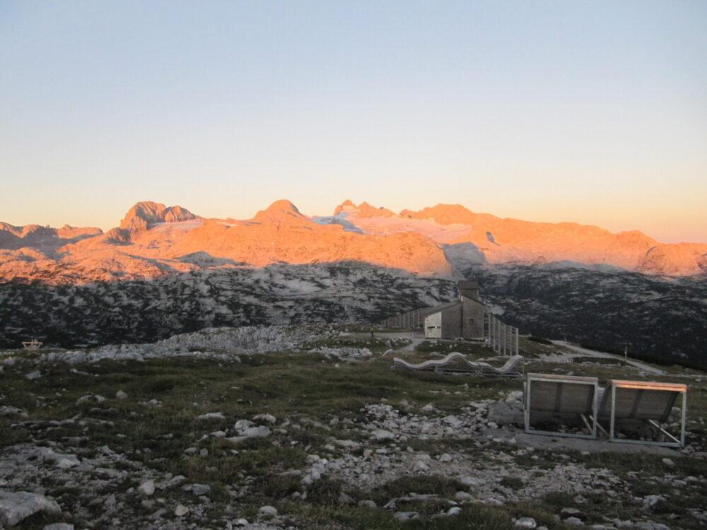 Sonnenaufgang am Krippenstein(Bild: Peter Perstl)
